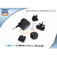 China Glucose Meter AC DC Adapter 6V 500Ma , Interchangeable AC DC Plug Adapter wholesale