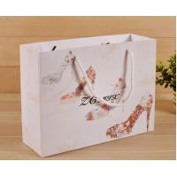 China Degradable Paper Shopping Bags Any Color Available For Grocery / Food Packaging wholesale