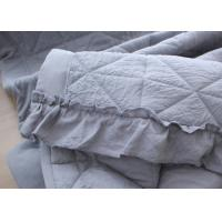 China Washable Cotton Throw Blanket , Quilted Multiple Colors Luxury Throw Blanket wholesale