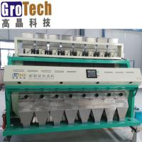 China Rice Color Sorting Machine with large capacity and third sorting design on sale