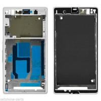 China Front Frame Cover Housing for Sony Xperia Z1, L39, C6902, C6903, C6943 White wholesale