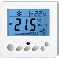 50/60Hz Frequency Fan Coil Unit Thermostat 100~240V With LCD Screen