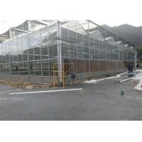 China Scientific Research Agricultural Glass Greenhouse High Light Transmitting Rate on sale