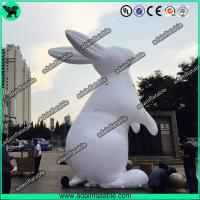 China White Inflatable Rabbit,Inflatable Rabbit Cartoon,Event Inflatable Rabbit wholesale