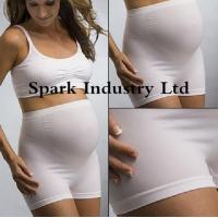 China Seamless Stretchable Maternity Briefs , Anti-Radiation Pregnant Clothing wholesale