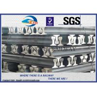 China GB6KG GB9KG GB12KG Steel Crane Rail / Gantry Crane Track For Railway Construction wholesale