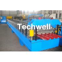 China IBR Roofing Sheet Roll Forming Machine / IBR Panel Forming Machine For Making Roof Wall Cladding wholesale