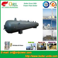 10 Ton hydrogen boiler mud drum ORL Power ASME certification manufacturer