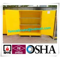 China Professional Industrial Safety Cabinets With 1.2 mm Cold Rolled Steel wholesale