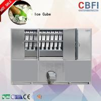 China 1000 ~ 20000Kgs / 24H Industrial Ice Cube Making Machine , Ice Makers Machines For Cold Drink wholesale