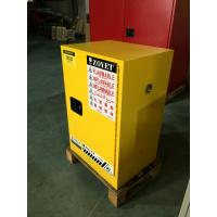 China Chemical Flammable Safety Storage Cabinets 12 GAL For Hazardous Material wholesale