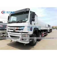 China RHD Howo 20m3 Water Dispenser Truck For Tree Irrigation wholesale