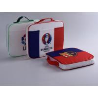China Promotional Printed Drawstring Bags / Football Fans Seat Cushions For Advertising on sale