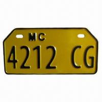 Quality High-quality Motorcycle License Plate, OEM and ODM Services are Provided for sale