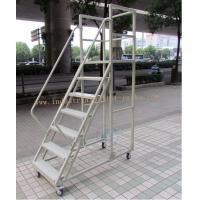 China Assembling High Climbing Ladder Warehouse Equipments For Shelving Rack Use wholesale