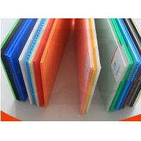 China Black / Transparent / Green Rigid Strong Polypropylene PP Flute Board Thickness 2mm-7mm wholesale