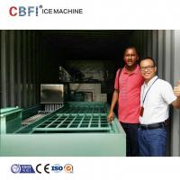China Commercial Containerized Block Ice Machine Big Containerized Block Ice Plant wholesale