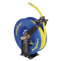 China Goodyear retractable wall mounted hose reel 15m hose Max. 300PSI wholesale