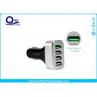 China Multiple Usb Automobile Charger with 4 Ports for Samsung Galaxy S7 S6 Edge S8 wholesale