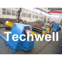 China 30KW High Speed Simple Metal Sheet Slitting Machine Line To Cut Coil Into 10 Strips wholesale