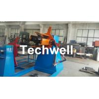 China Active Uncoiling , Hydraulic To Expand 5, 10, 15 Ton Hydraulic Uncoiler / Decoiler With Coil Width 1500mm wholesale