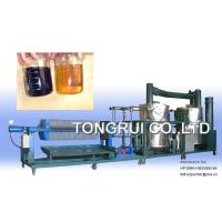China NRY Used Gasoline Engine Oil Recycling/Black Oil Regeneration/oil purification machine on sale