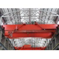 Quality QD Double Girder EOT Crane Bridge Crane , Heavy Duty Lift Equipment 10 Ton - 550 Ton for sale