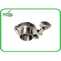 China BS4825-3 Tri Clamp Coupling Sanitary Stainless Steel Quick Clamp Tube Fittings wholesale