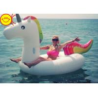 Buy cheap Inflatable Swimming Pool Float/Swan Pool Float/Unicorn Floating Row Water Inflatable Large Unicorn product