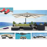 China outdoor garden wicker beach sofa-9419 wholesale