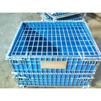 China PP Board Protection Cover Wire Mesh Container For Small Parts Completeness wholesale