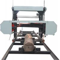 China China supply quality MJ1300 horizontal band saw mills log cutting used portable sawmill for sale wholesale
