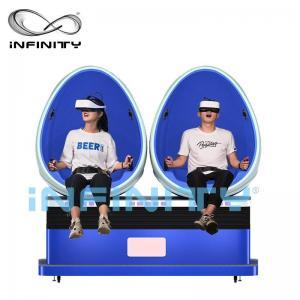 China Virtual Reality Smart HD 9D Egg VR Cinema 360 Degree Rotation For Amusement Park wholesale