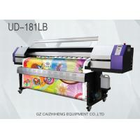 China Polyester Galaxy Eco Solvent Printers , Epson DX5 Solvent Sublimation Printing Machine wholesale