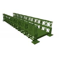 Buy cheap Professional Temporary Bailey Bridge Steel Structure Customized AWS Approved from wholesalers