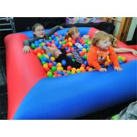 China Safety Funny Backyard Small Kids Inflatable Ball Pit Pool For Party on sale