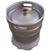 China Silver Color Euro Standard 1 2 Keg 50L Capacity 1.5 And 2mm Thickness on sale