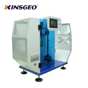 Buy cheap 7.5J,15J 3.5m/s 80KG Izod Plastic Impact Machine Equipment with AC220V±10% 50HZ from wholesalers
