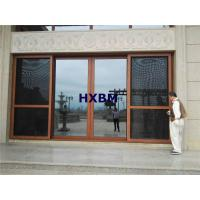 China AS2208 Standard Tempered Aluminum Sliding Doors Waterproof For Residential Houses wholesale