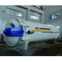 Quality Composite Autoclave with limit block and safety valve and interlock for sale