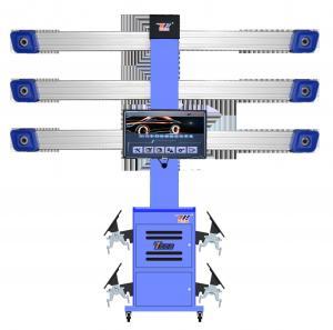 China Automotive Vehicle 3excel Wheel Aligner Automatic , 3d 4 Wheel Car Alignment Equipment wholesale