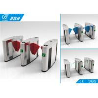 China Outdoor Turnstile Security Systems , Comercial Building Electronic Turnstile Gates wholesale