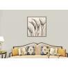 China Beige Printed Bright Modern Wallpaper 0.53*10m , Home Decoration Wallpaper Long Fiber wholesale