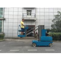 China Z4106 In Door & Out Door Use Self Propelled Single Person Man Lift , Boom Lift wholesale