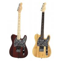 China Pearl Loid Pickguard Whole Solidwood Body Electric Guitar Fender Telecaster Style AG39-TL2 wholesale