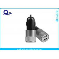 China 10W Mini Dual USB Car Charger , Mobile Phone Car charger for iPhone 7 5s wholesale