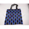 China Two Tone Nylon Webbing Polyester Handbags For Shopping Customized Design wholesale