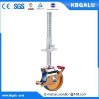 Buy cheap 8 inch scaffold wheel with steel ajustable leg from wholesalers