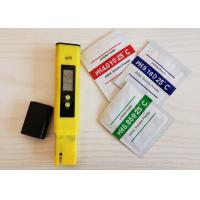 China ABS New Material PH Test Pen / Water PH Meter Customized Color wholesale