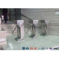 Quality Vertical Tripod Access Control Turnstiles Semi - Auto Compact For Outdoor for sale